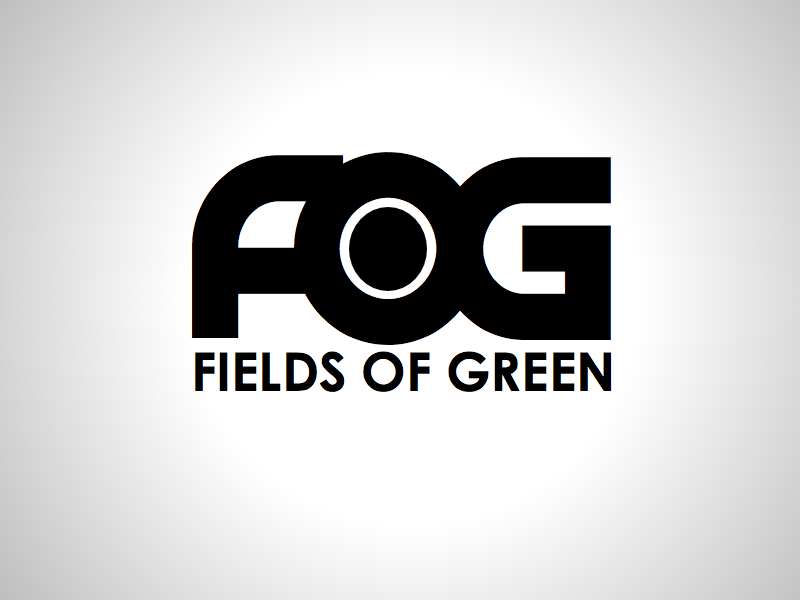 Logo Design by wagkangmakulit - Entry No. 14 in the Logo Design Contest Psych-Rock Band FIELDS OF GREEN Logo Design.