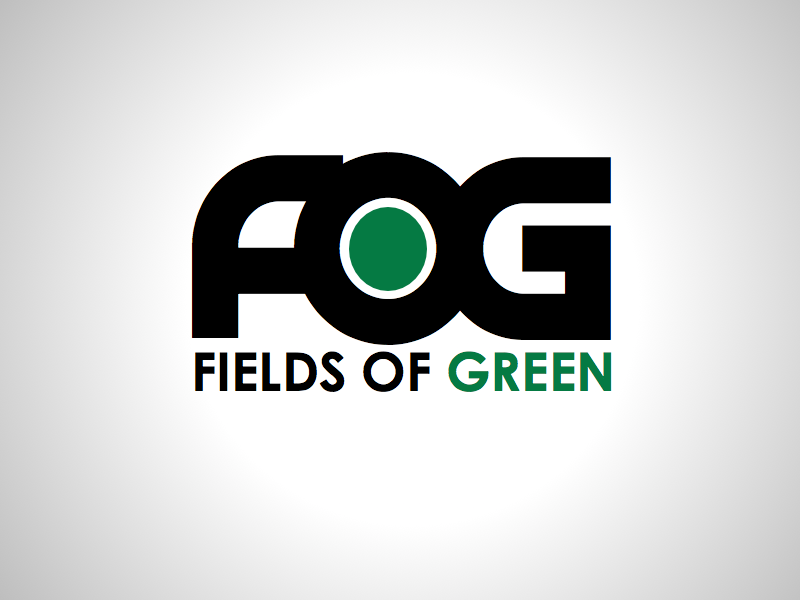 Logo Design by wagkangmakulit - Entry No. 15 in the Logo Design Contest Psych-Rock Band FIELDS OF GREEN Logo Design.