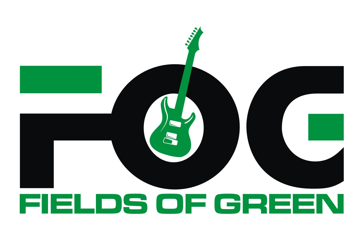 Logo Design by Private User - Entry No. 16 in the Logo Design Contest Psych-Rock Band FIELDS OF GREEN Logo Design.