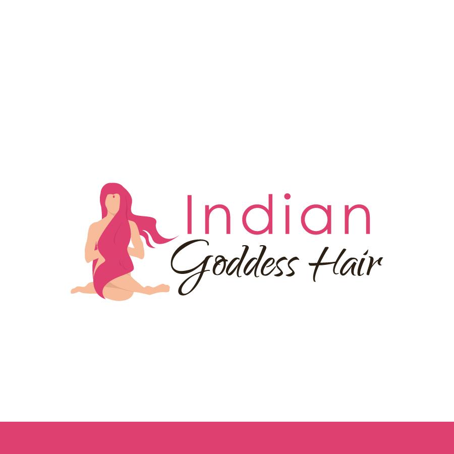 Logo Design by Edward Goodwin - Entry No. 22 in the Logo Design Contest Indian Goddess Hair LOGO DESIGN.