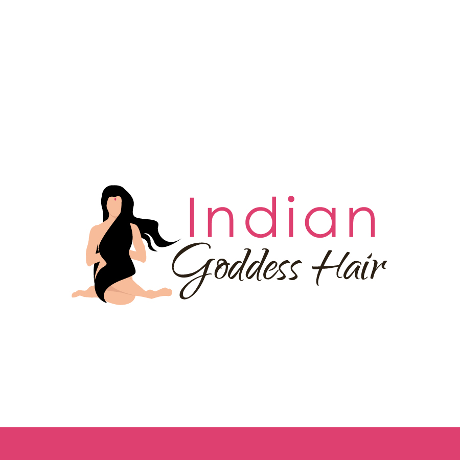 Logo Design by Edward Goodwin - Entry No. 23 in the Logo Design Contest Indian Goddess Hair LOGO DESIGN.