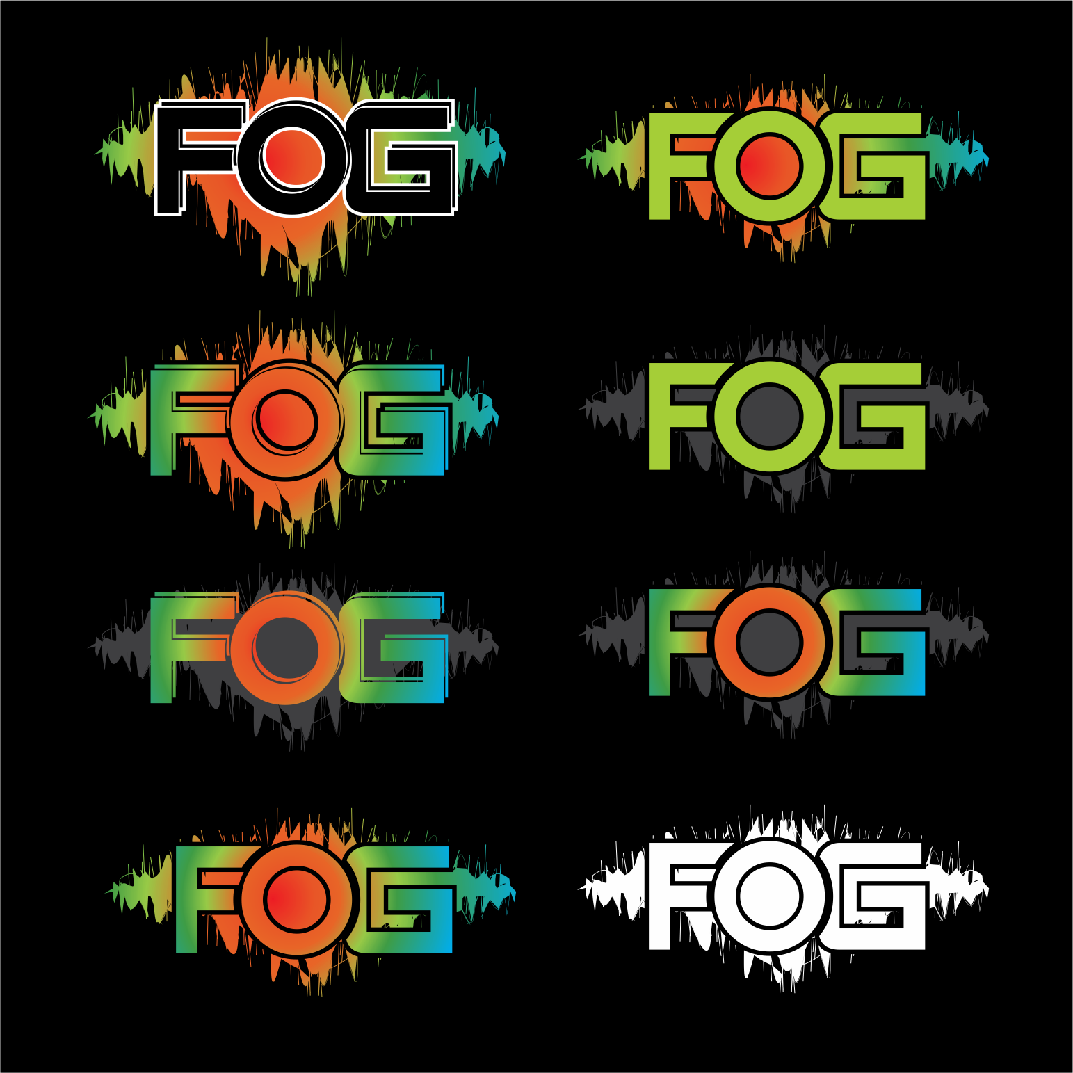 Logo Design by moisesf - Entry No. 31 in the Logo Design Contest Psych-Rock Band FIELDS OF GREEN Logo Design.