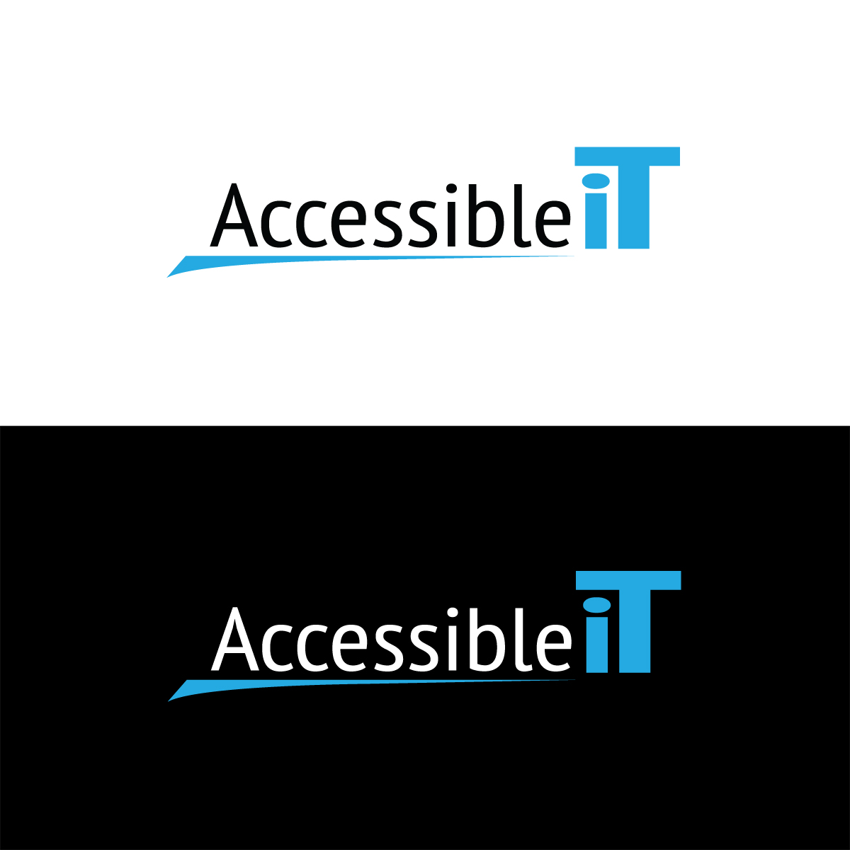 Logo Design by Diane Dunbrack - Entry No. 357 in the Logo Design Contest Logo Design Needed for Exciting New Company Accessible IT.
