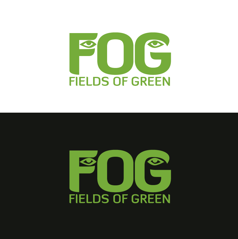 Logo Design by Peter Grubb - Entry No. 33 in the Logo Design Contest Psych-Rock Band FIELDS OF GREEN Logo Design.