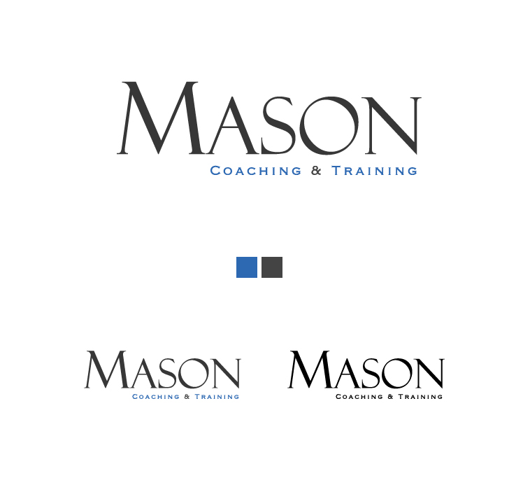 Logo Design by elmd - Entry No. 83 in the Logo Design Contest New Logo Design Needed for Exciting Company Rob Mason Coaching.