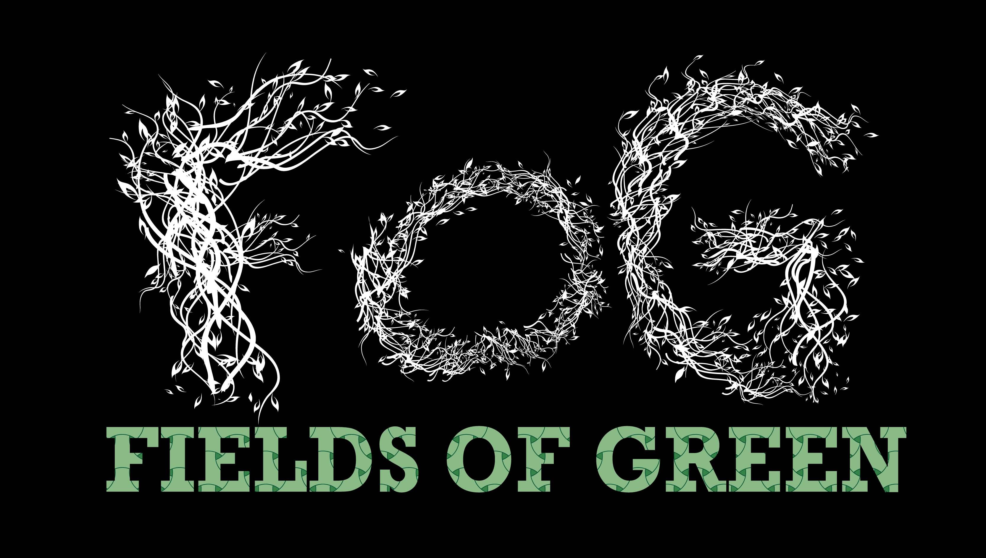 Logo Design by Aj Ong - Entry No. 37 in the Logo Design Contest Psych-Rock Band FIELDS OF GREEN Logo Design.