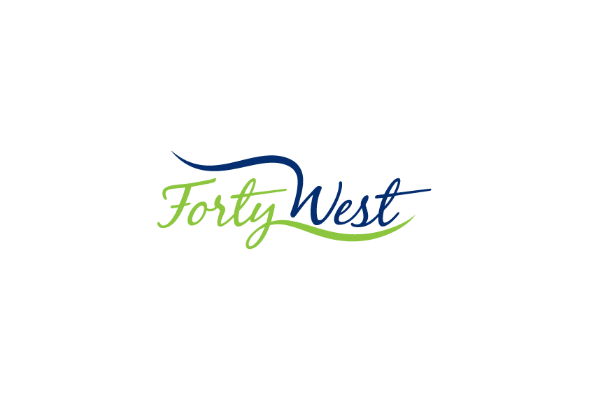 Logo Design by Severiano Fernandes - Entry No. 51 in the Logo Design Contest Unique Logo Design Wanted for Forty West.