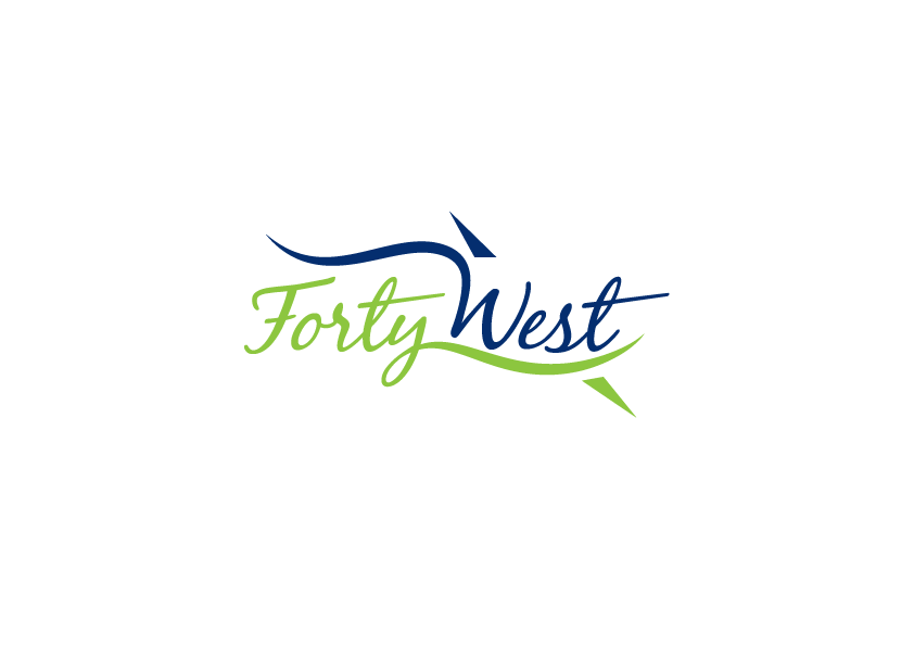 Logo Design by Severiano Fernandes - Entry No. 52 in the Logo Design Contest Unique Logo Design Wanted for Forty West.