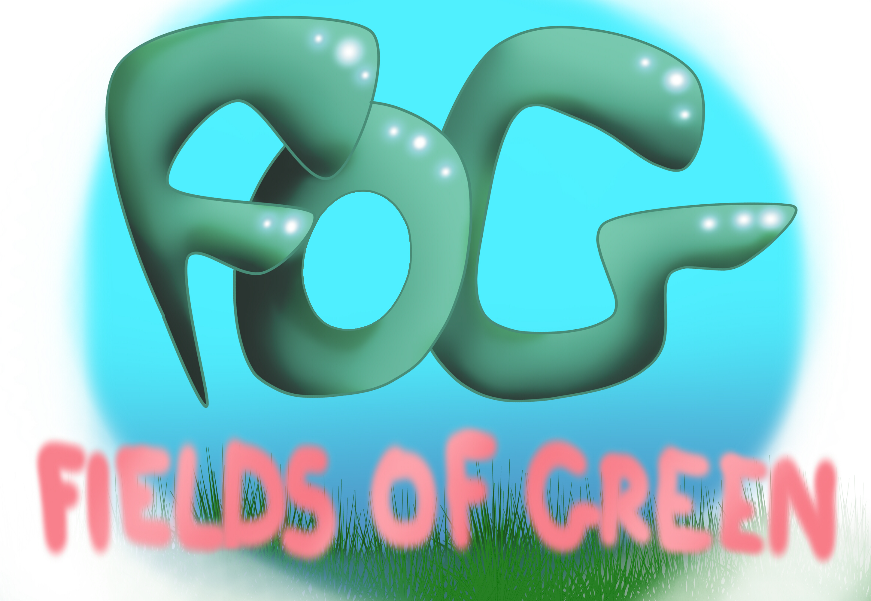 Logo Design by lilwolfchick - Entry No. 40 in the Logo Design Contest Psych-Rock Band FIELDS OF GREEN Logo Design.