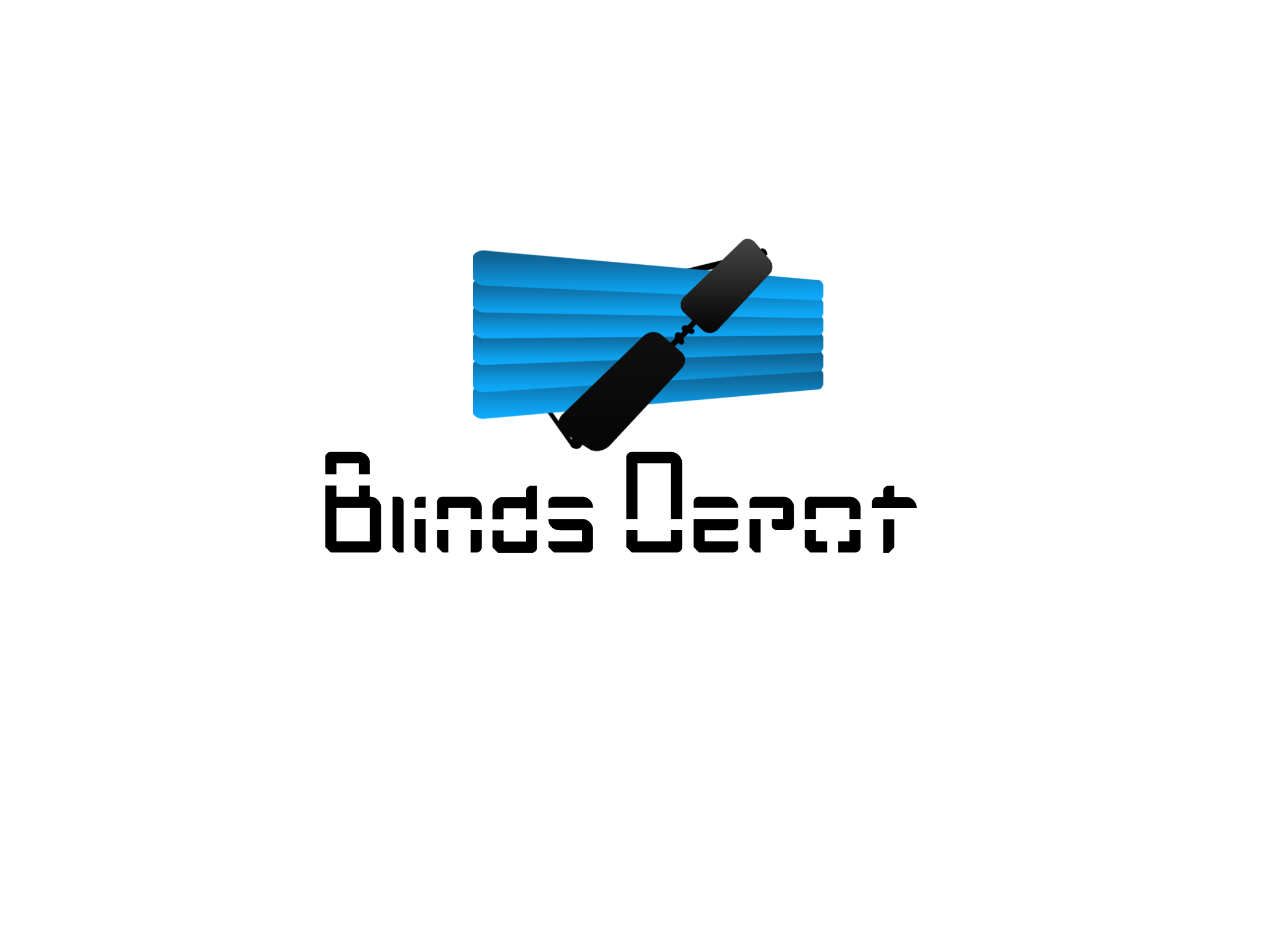 Logo Design by Jerry Nable Jr - Entry No. 40 in the Logo Design Contest Logo Design Needed for Exciting New Company Blinds Depot.