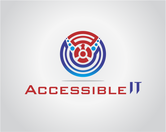 Logo Design by Armada Jamaluddin - Entry No. 366 in the Logo Design Contest Logo Design Needed for Exciting New Company Accessible IT.