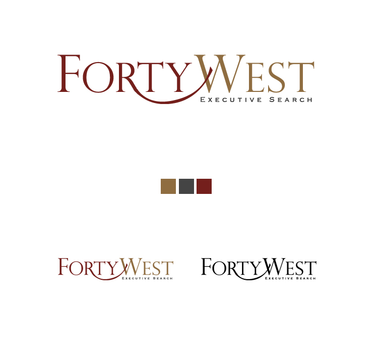 Logo Design by elmd - Entry No. 57 in the Logo Design Contest Unique Logo Design Wanted for Forty West.