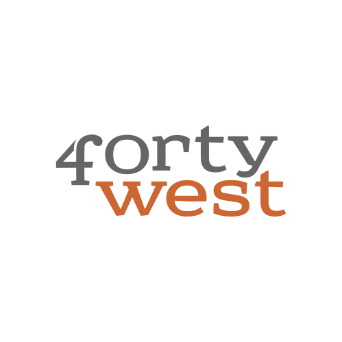 Logo Design by Rudy - Entry No. 60 in the Logo Design Contest Unique Logo Design Wanted for Forty West.