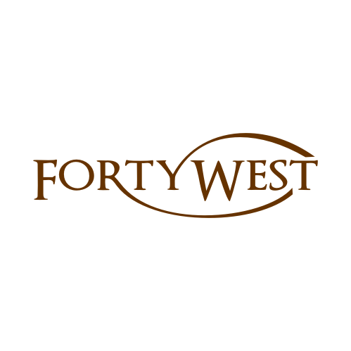 Logo Design by Rudy - Entry No. 61 in the Logo Design Contest Unique Logo Design Wanted for Forty West.