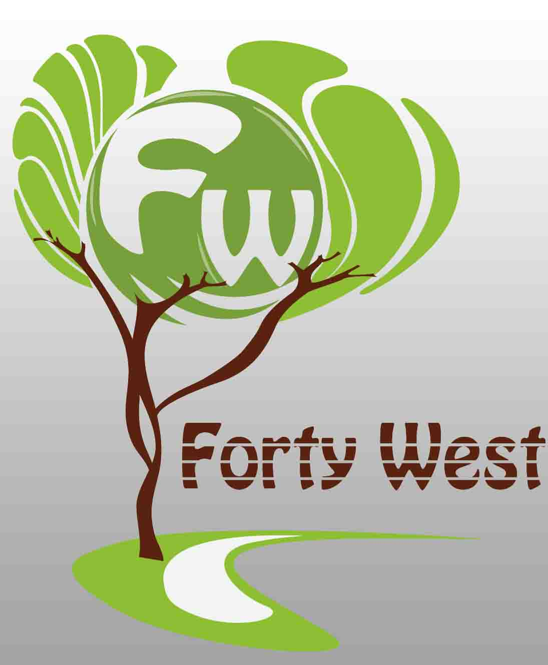 Logo Design by Aj Ong - Entry No. 65 in the Logo Design Contest Unique Logo Design Wanted for Forty West.