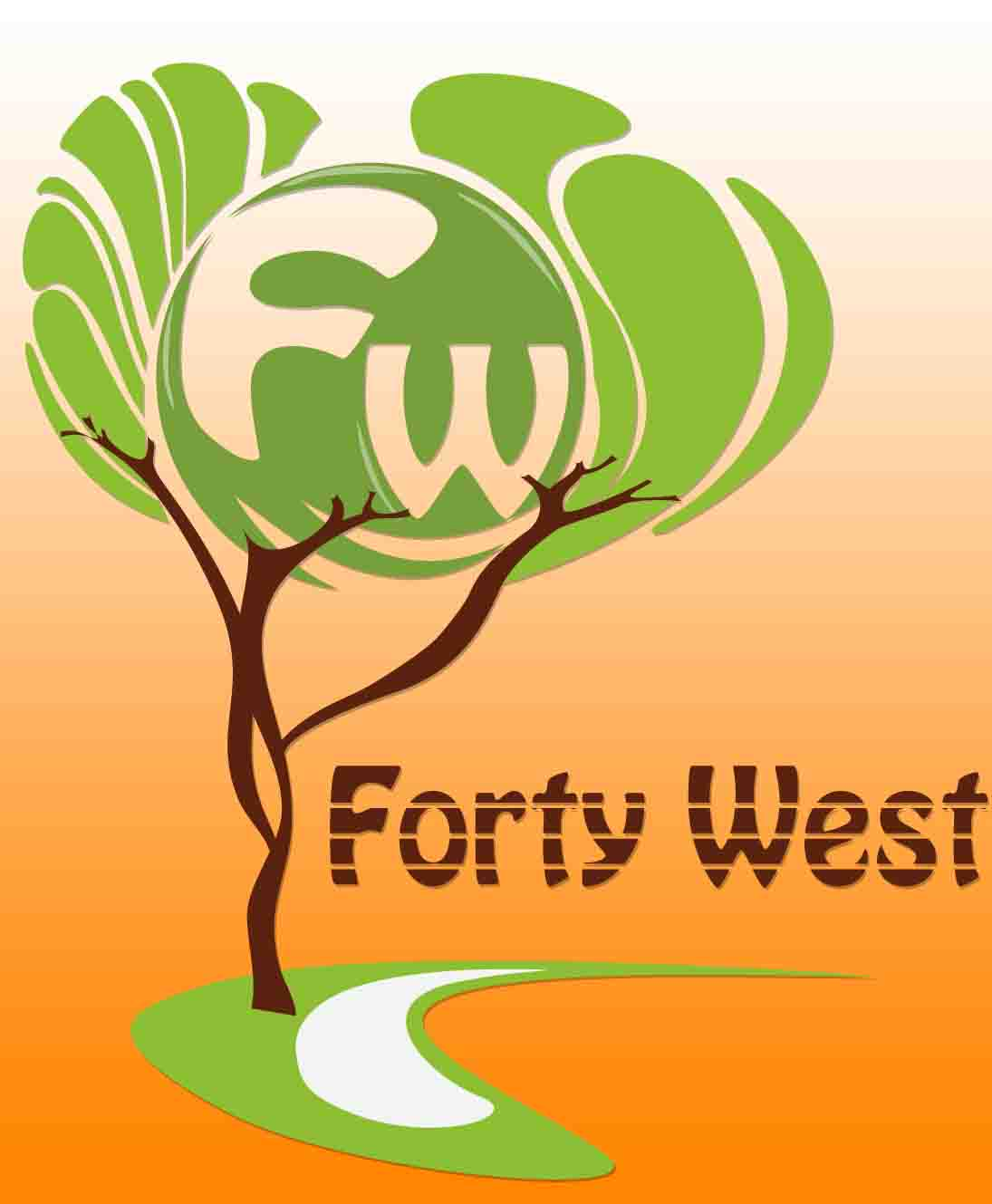 Logo Design by Aj Ong - Entry No. 66 in the Logo Design Contest Unique Logo Design Wanted for Forty West.