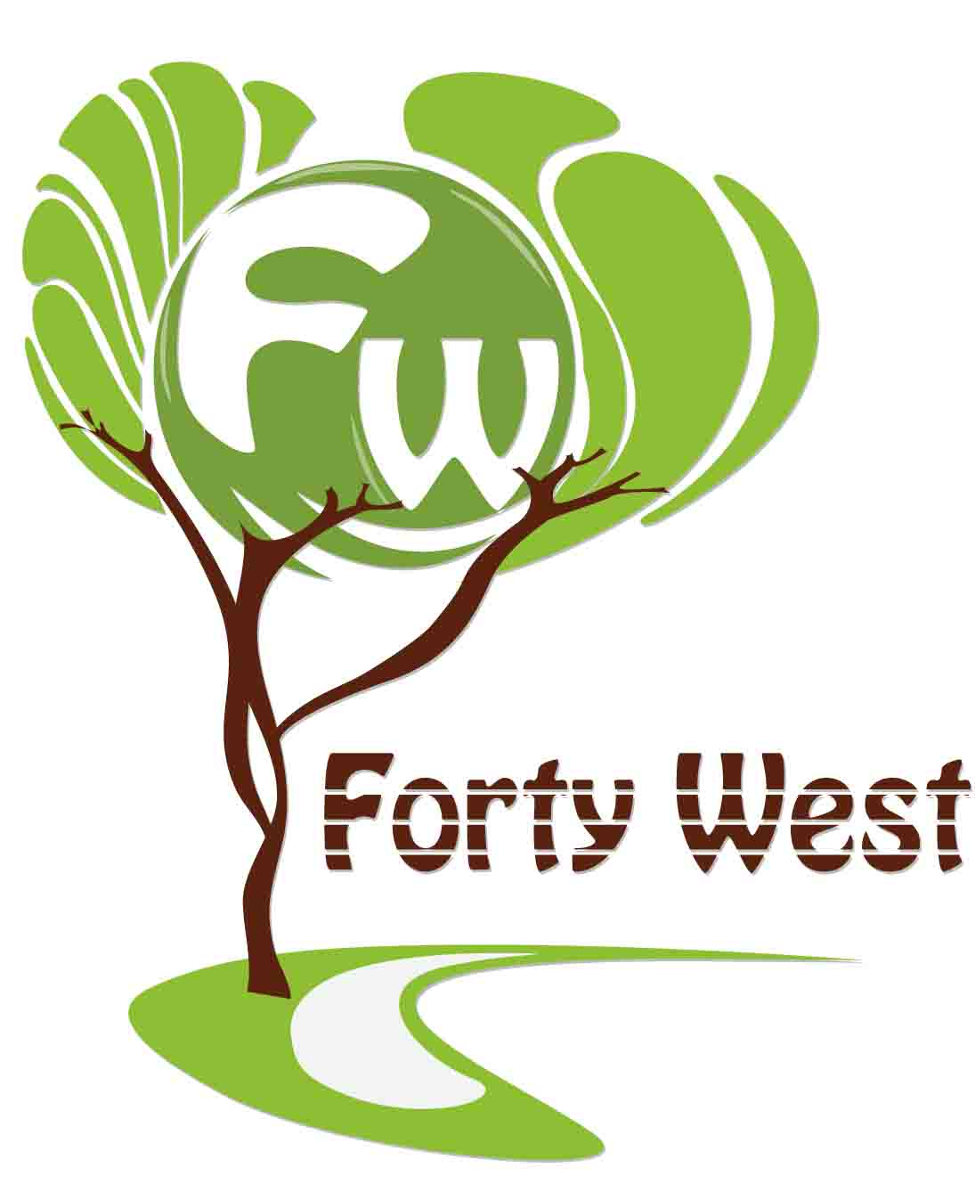 Logo Design by Aj Ong - Entry No. 67 in the Logo Design Contest Unique Logo Design Wanted for Forty West.