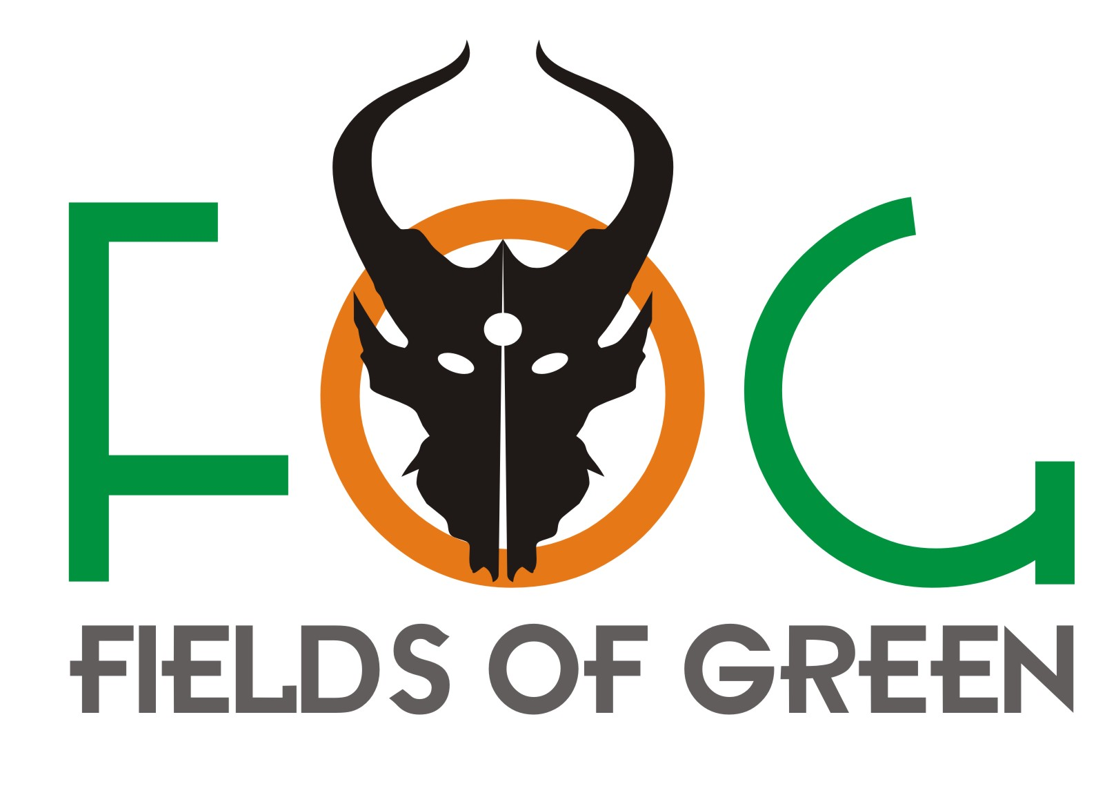 Logo Design by Private User - Entry No. 54 in the Logo Design Contest Psych-Rock Band FIELDS OF GREEN Logo Design.