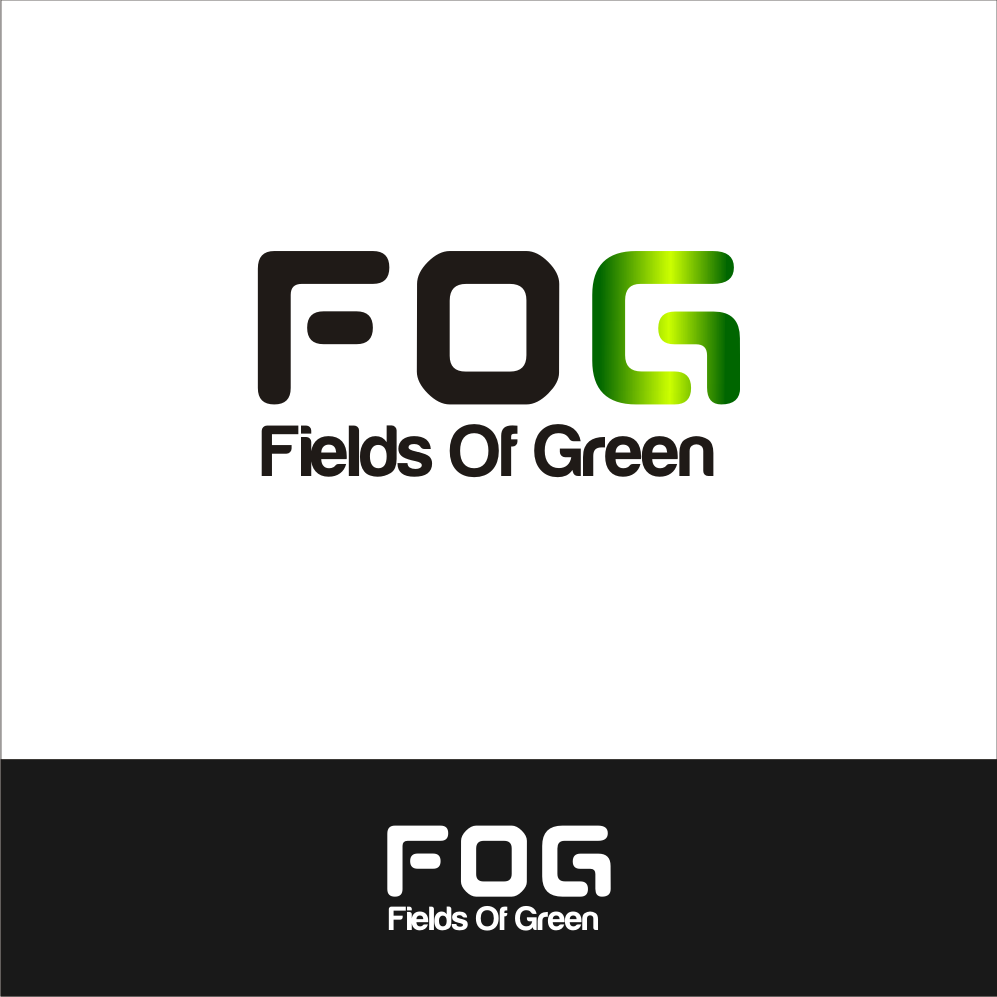 Logo Design by A Rizkiyanto Amir - Entry No. 55 in the Logo Design Contest Psych-Rock Band FIELDS OF GREEN Logo Design.