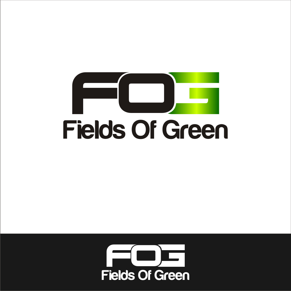 Logo Design by A Rizkiyanto Amir - Entry No. 57 in the Logo Design Contest Psych-Rock Band FIELDS OF GREEN Logo Design.