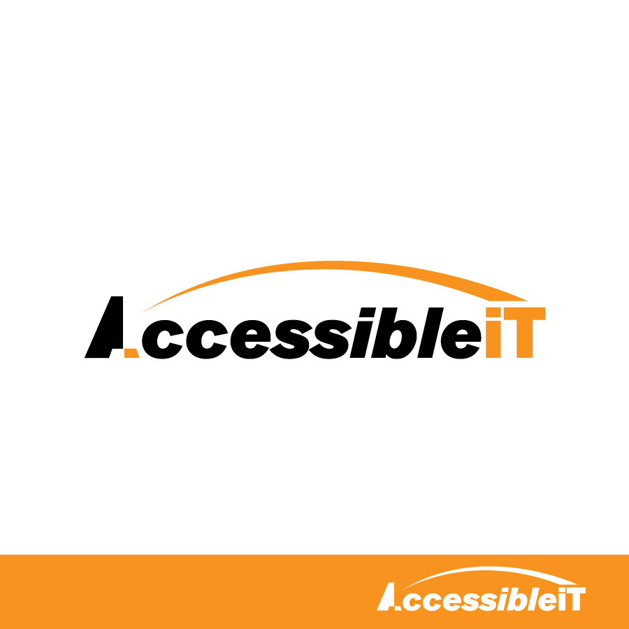 Logo Design by Edward Goodwin - Entry No. 370 in the Logo Design Contest Logo Design Needed for Exciting New Company Accessible IT.