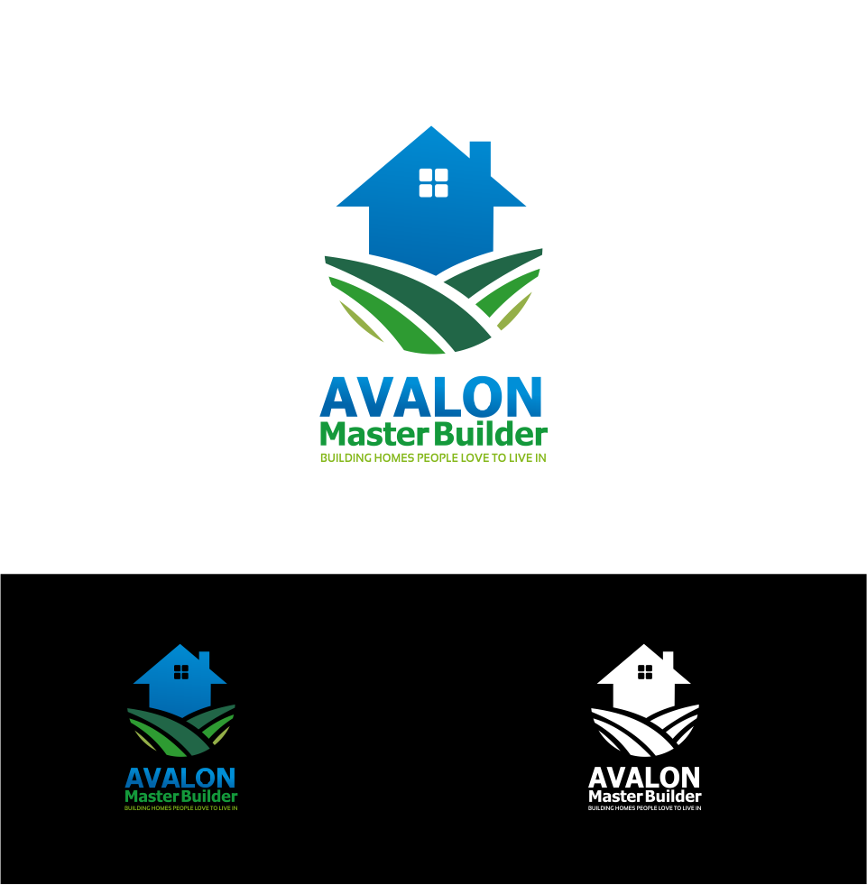 Logo Design by Mitchnick Sunardi - Entry No. 4 in the Logo Design Contest Avalon Master Builder Logo Design.