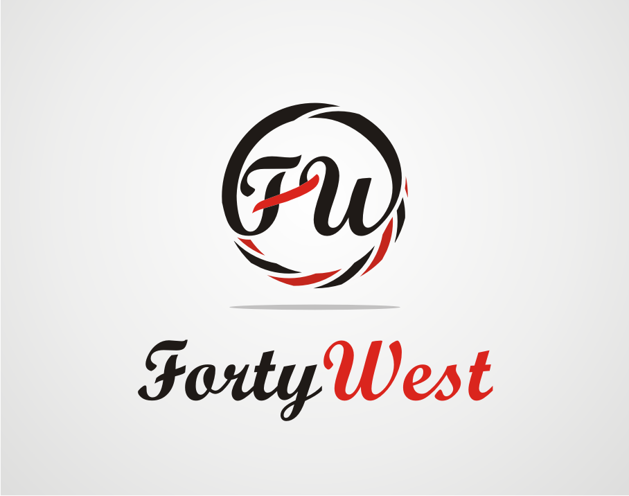 Logo Design by Armada Jamaluddin - Entry No. 72 in the Logo Design Contest Unique Logo Design Wanted for Forty West.