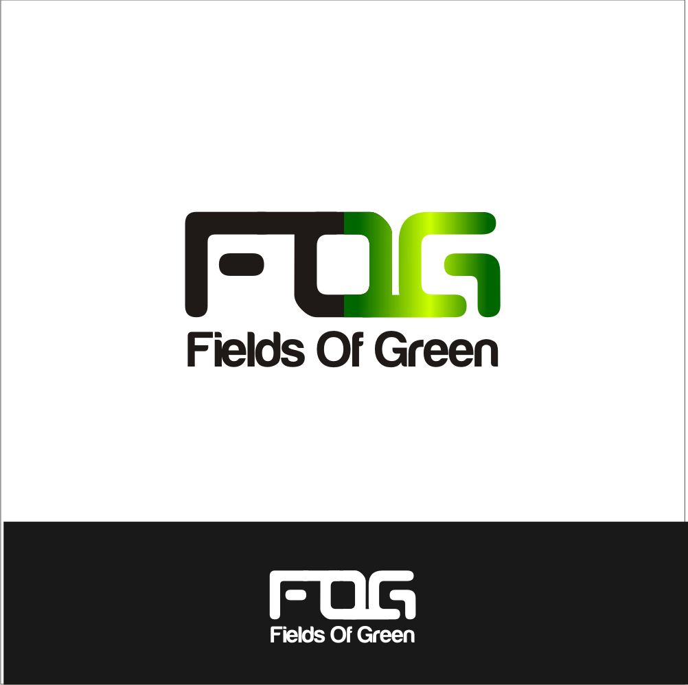 Logo Design by A Rizkiyanto Amir - Entry No. 61 in the Logo Design Contest Psych-Rock Band FIELDS OF GREEN Logo Design.