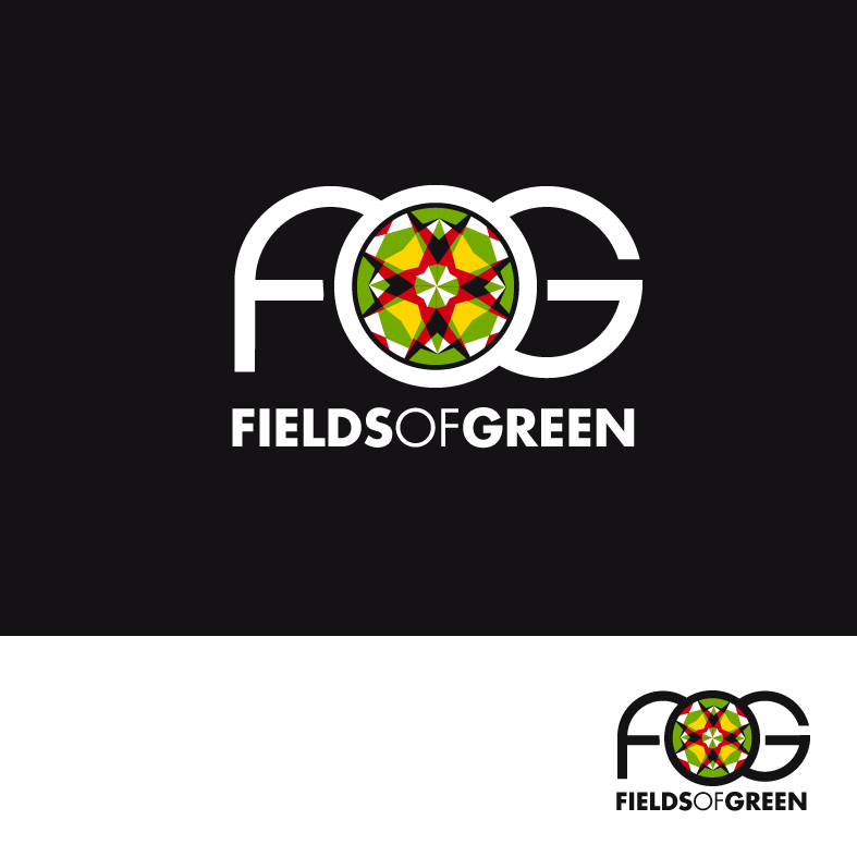 Logo Design by luna - Entry No. 64 in the Logo Design Contest Psych-Rock Band FIELDS OF GREEN Logo Design.
