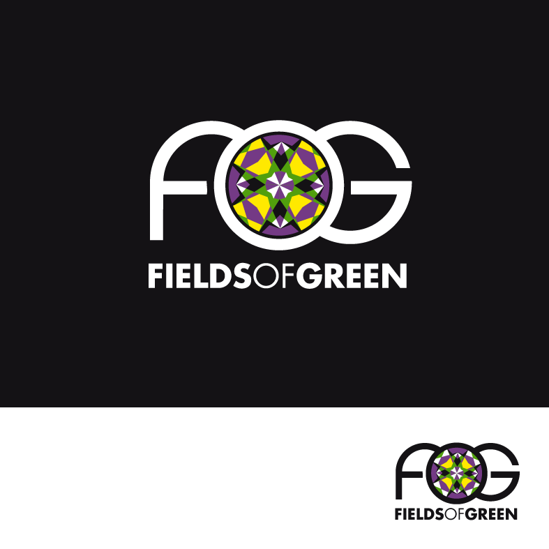 Logo Design by luna - Entry No. 65 in the Logo Design Contest Psych-Rock Band FIELDS OF GREEN Logo Design.