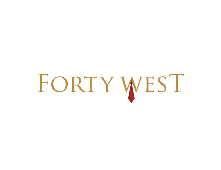 Logo Design by blackmarker - Entry No. 80 in the Logo Design Contest Unique Logo Design Wanted for Forty West.