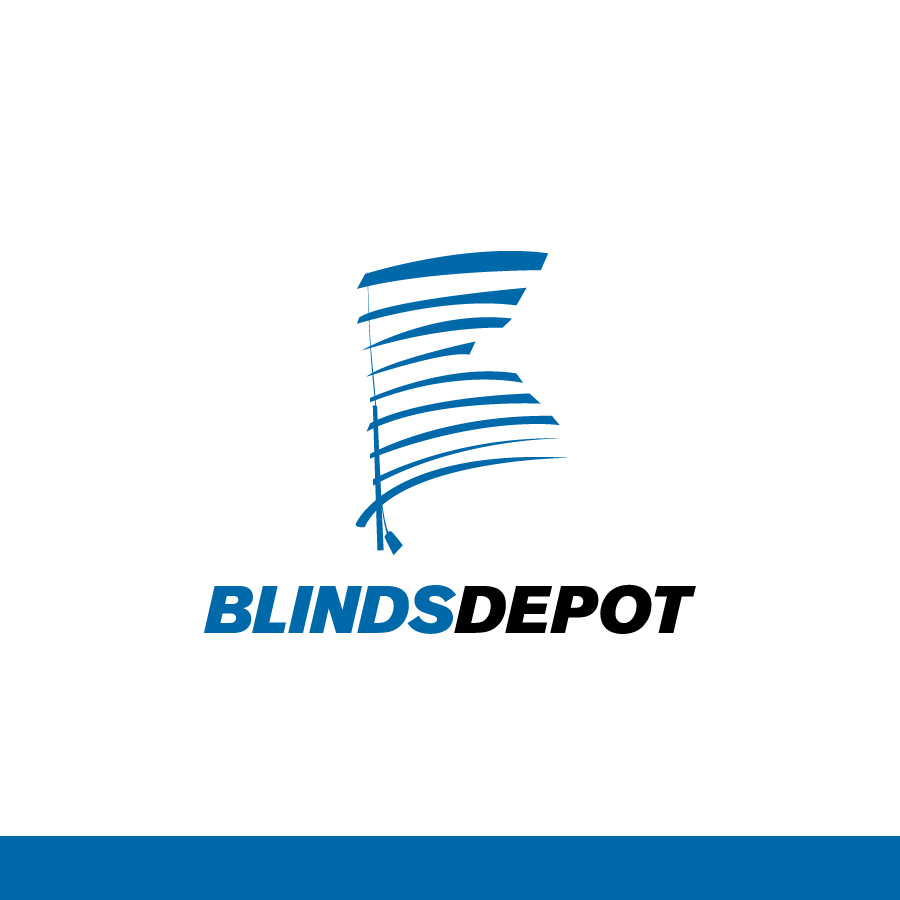 Logo Design by Edward Goodwin - Entry No. 44 in the Logo Design Contest Logo Design Needed for Exciting New Company Blinds Depot.