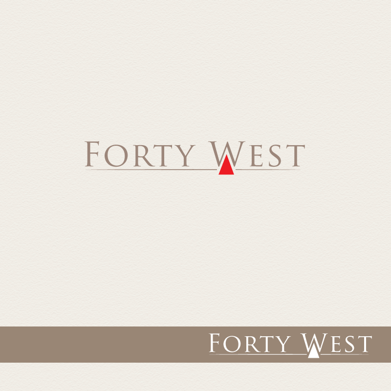 Logo Design by storm - Entry No. 82 in the Logo Design Contest Unique Logo Design Wanted for Forty West.