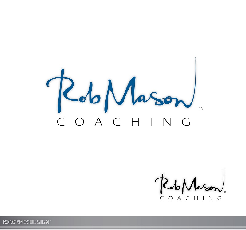 Logo Design by kowreck - Entry No. 87 in the Logo Design Contest New Logo Design Needed for Exciting Company Rob Mason Coaching.