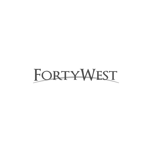 Logo Design by Rudy - Entry No. 83 in the Logo Design Contest Unique Logo Design Wanted for Forty West.