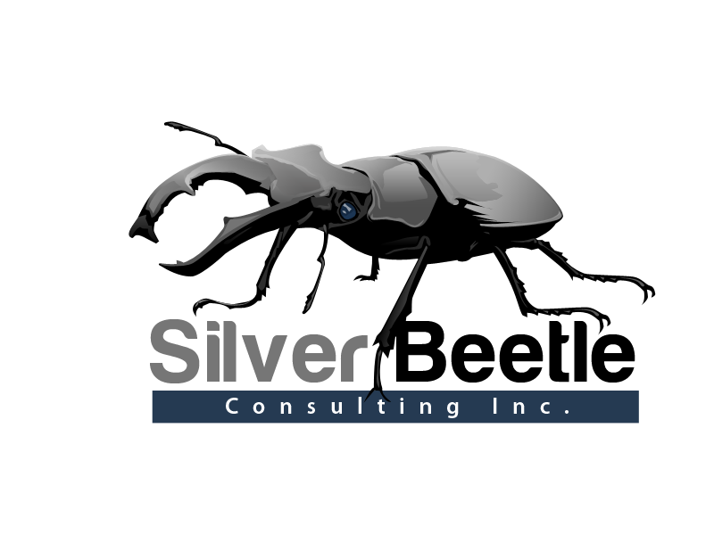 Logo Design by Aga Ochoco - Entry No. 28 in the Logo Design Contest Silver Beetle Consulting Inc. Logo Design.