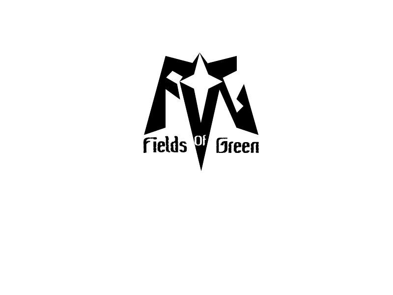 Logo Design by Roland Huse - Entry No. 68 in the Logo Design Contest Psych-Rock Band FIELDS OF GREEN Logo Design.