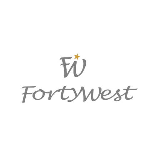 Logo Design by Rudy - Entry No. 84 in the Logo Design Contest Unique Logo Design Wanted for Forty West.