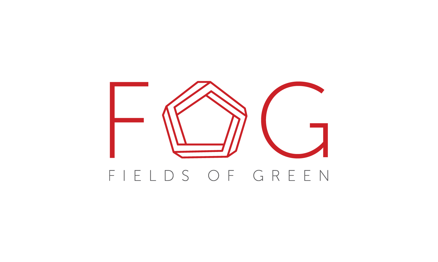 Logo Design by Emelie Halston - Entry No. 71 in the Logo Design Contest Psych-Rock Band FIELDS OF GREEN Logo Design.