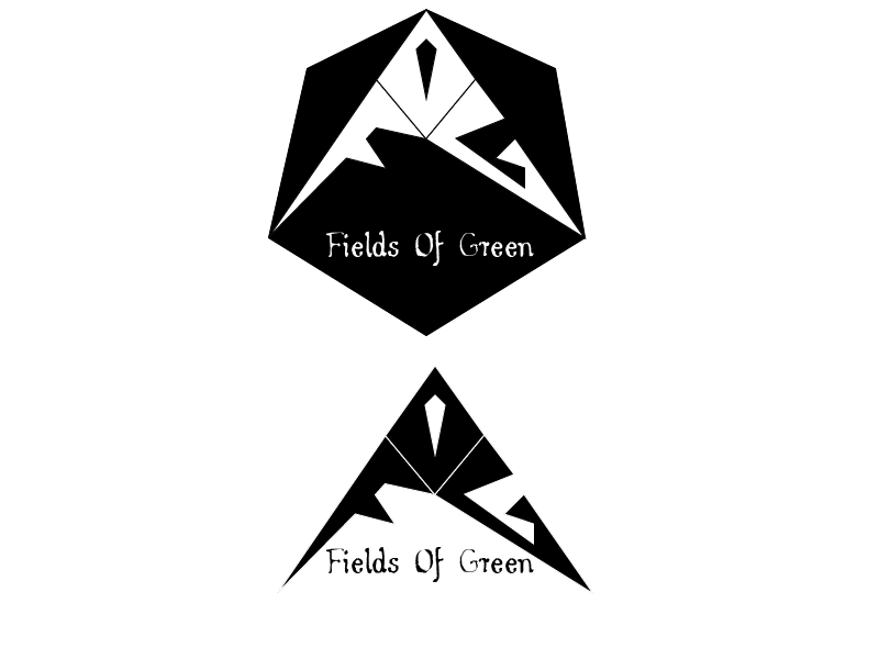 Logo Design by Roland Huse - Entry No. 72 in the Logo Design Contest Psych-Rock Band FIELDS OF GREEN Logo Design.
