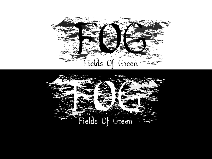 Logo Design by Roland Huse - Entry No. 77 in the Logo Design Contest Psych-Rock Band FIELDS OF GREEN Logo Design.