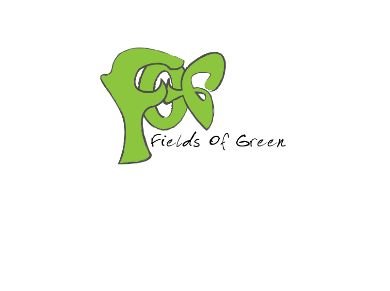 Logo Design by Roland Huse - Entry No. 78 in the Logo Design Contest Psych-Rock Band FIELDS OF GREEN Logo Design.