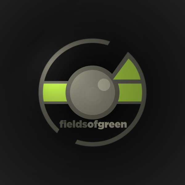 Logo Design by Private User - Entry No. 81 in the Logo Design Contest Psych-Rock Band FIELDS OF GREEN Logo Design.