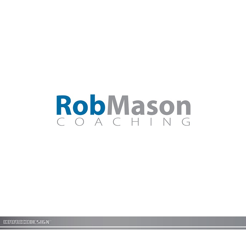 Logo Design by kowreck - Entry No. 89 in the Logo Design Contest New Logo Design Needed for Exciting Company Rob Mason Coaching.