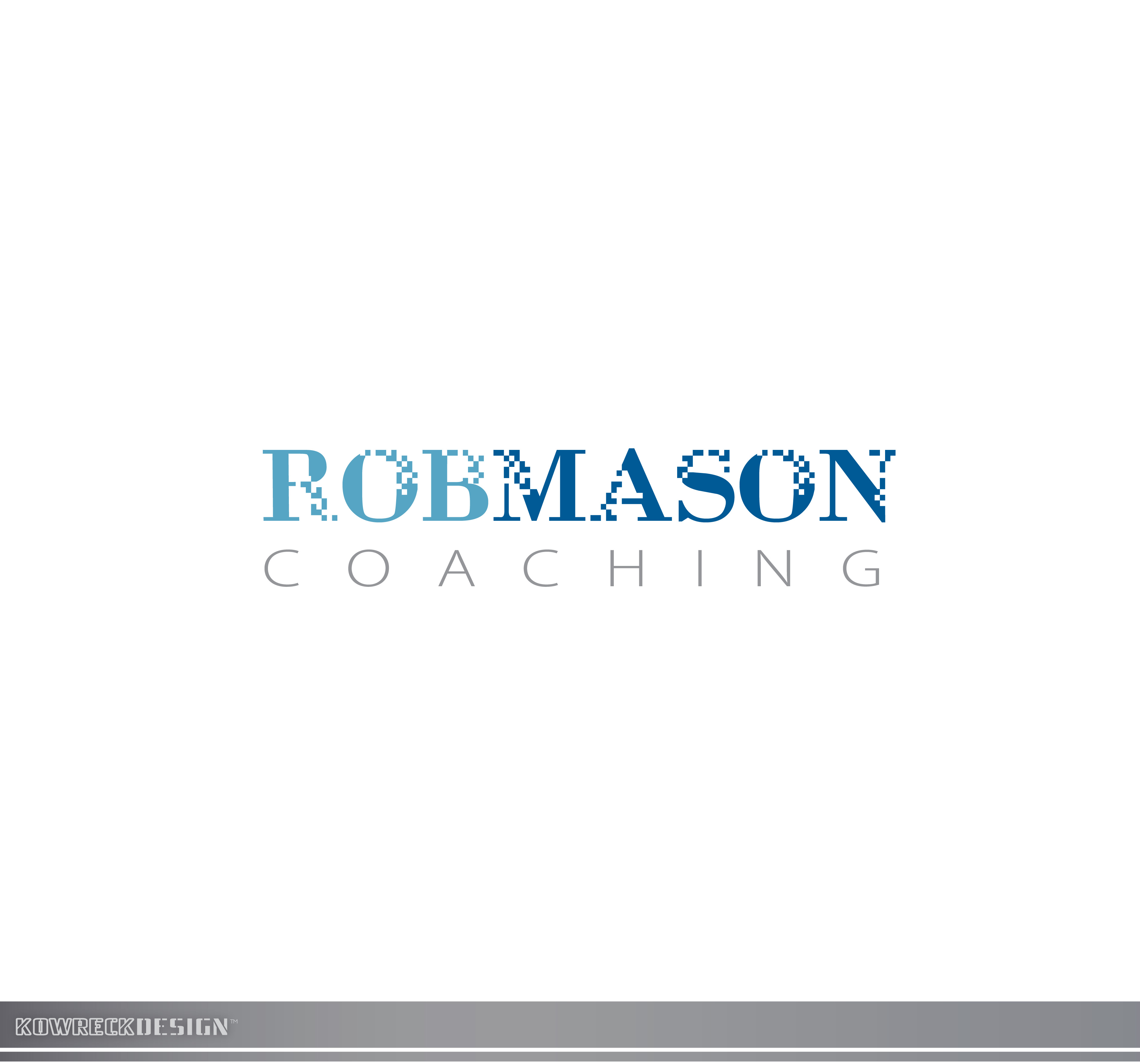 Logo Design by kowreck - Entry No. 91 in the Logo Design Contest New Logo Design Needed for Exciting Company Rob Mason Coaching.