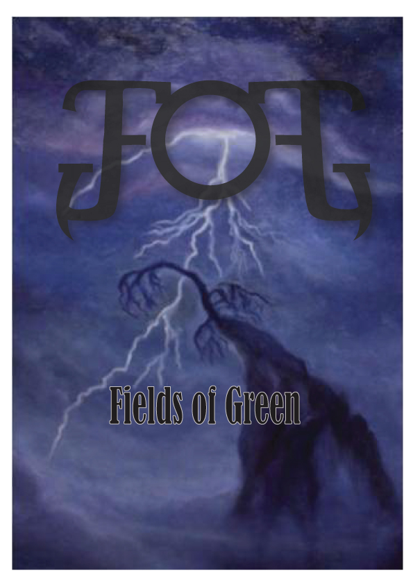 Logo Design by Private User - Entry No. 84 in the Logo Design Contest Psych-Rock Band FIELDS OF GREEN Logo Design.