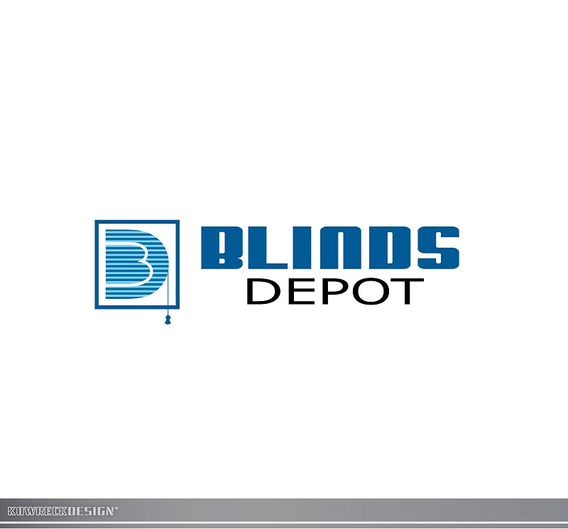 Logo Design by kowreck - Entry No. 53 in the Logo Design Contest Logo Design Needed for Exciting New Company Blinds Depot.