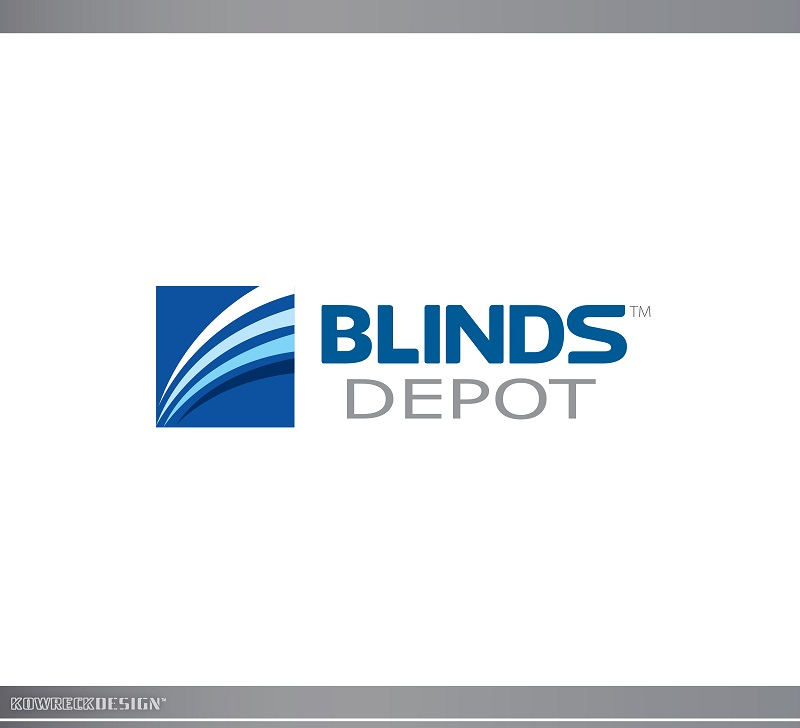 Logo Design by kowreck - Entry No. 54 in the Logo Design Contest Logo Design Needed for Exciting New Company Blinds Depot.
