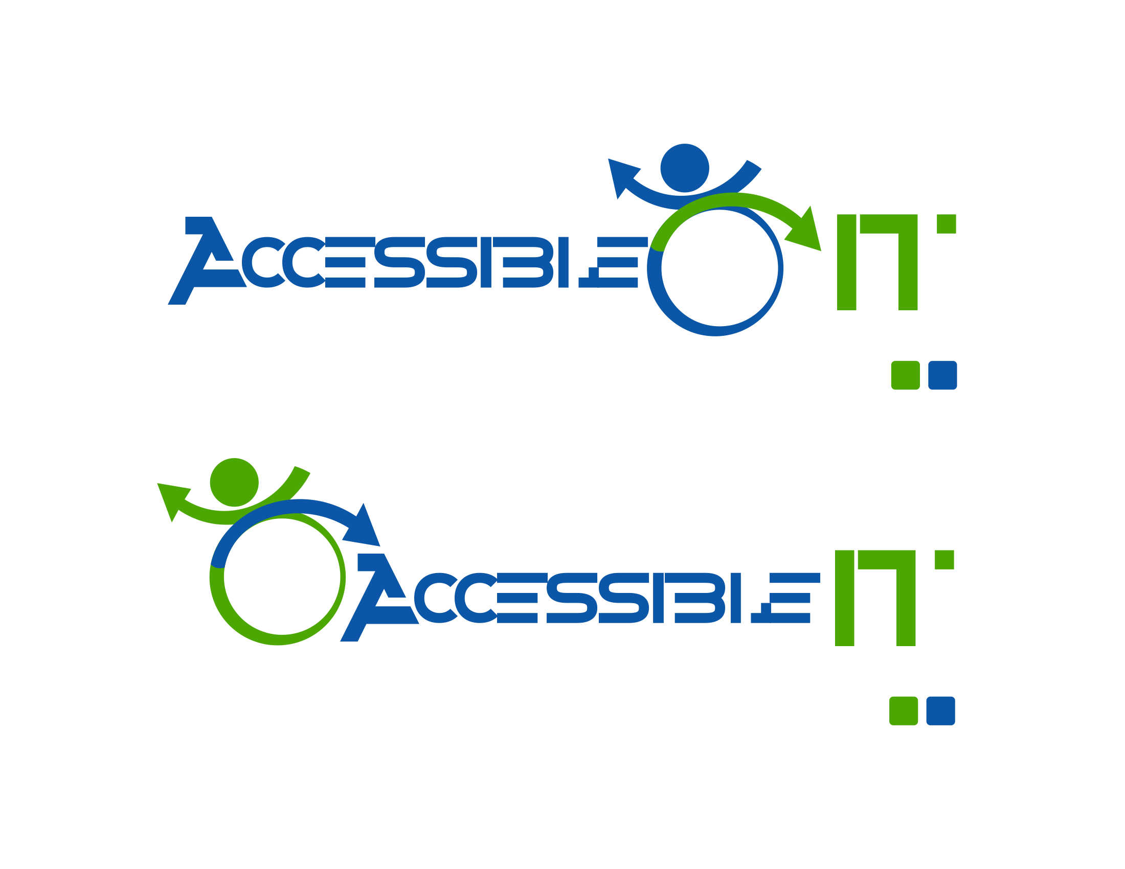Logo Design by Private User - Entry No. 400 in the Logo Design Contest Logo Design Needed for Exciting New Company Accessible IT.