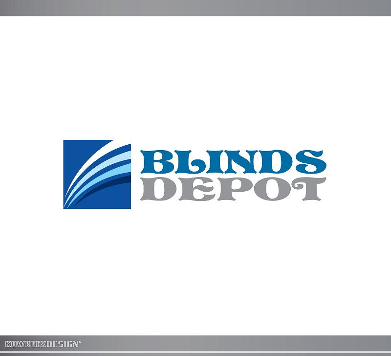 Logo Design by kowreck - Entry No. 55 in the Logo Design Contest Logo Design Needed for Exciting New Company Blinds Depot.